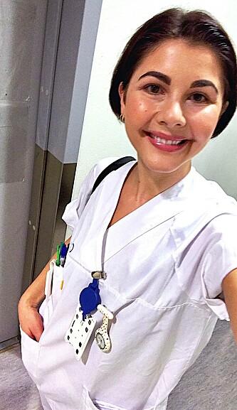 HELT: Renee Rokstad er sykepleier på Ullevål Sykehus. FOTO: Privat