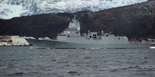 image: Fregatt i karantene