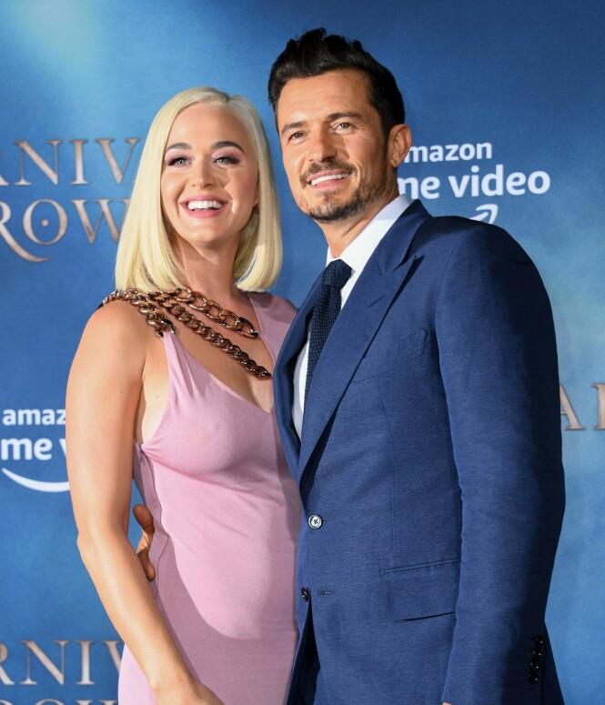 STJERNEPAR: Katy Perry og Orlando Bloom har vært sammen siden 2016. Bloom røper i et intervju hvordan han forholdt seg til sexlivet før han traff Perry. FOTO: NTB Scanpix
