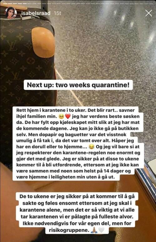 Foto: Skjermdump fra Instagram