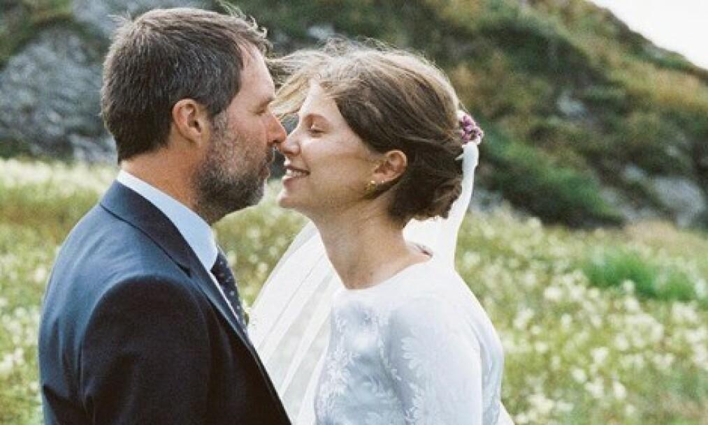 <strong>VENTER BARN:</strong> Regissør Stian Kristiansen og skuespiller Eili Harboe giftet seg i fjor sommer, og nå venter de sitt første barn sammen. Foto: Privat / Marthe Thu