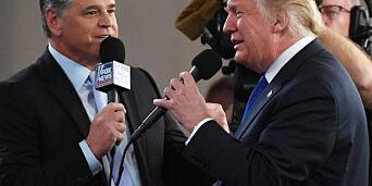 image: U-sving hos Trumps favorittkanal