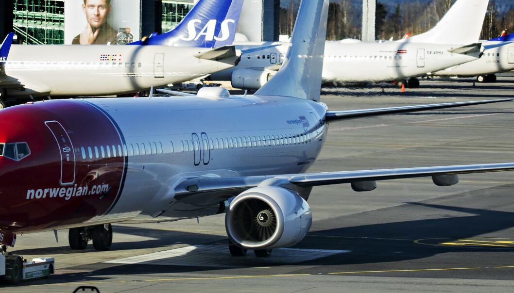 Norwegian-aksjen til himmels etter SAS-nyhet