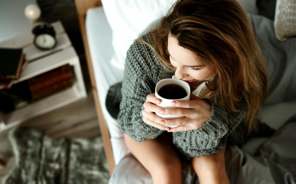 KONSENTRASJON: Kaffe øker konsentrasjonen vår, men det gjør også trening. FOTO: NTB Scanpix