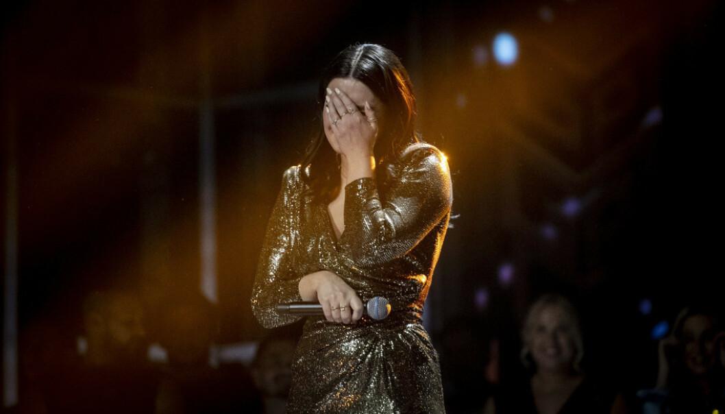 <strong>AVLYST:</strong> Norges Eurovison-håp Ulrikke Brandstorp får ikke representere Norge i den europeiske finalen. Onsdag ble konkurransen avlyst. Foto: Bjørn Langsem/ Dagbladet.
