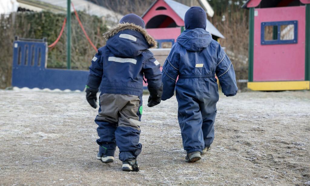 ÅPNER: Mandag åpner barnehagene i Norge igjen. Foto: Gorm Kallestad / NTB scanpix