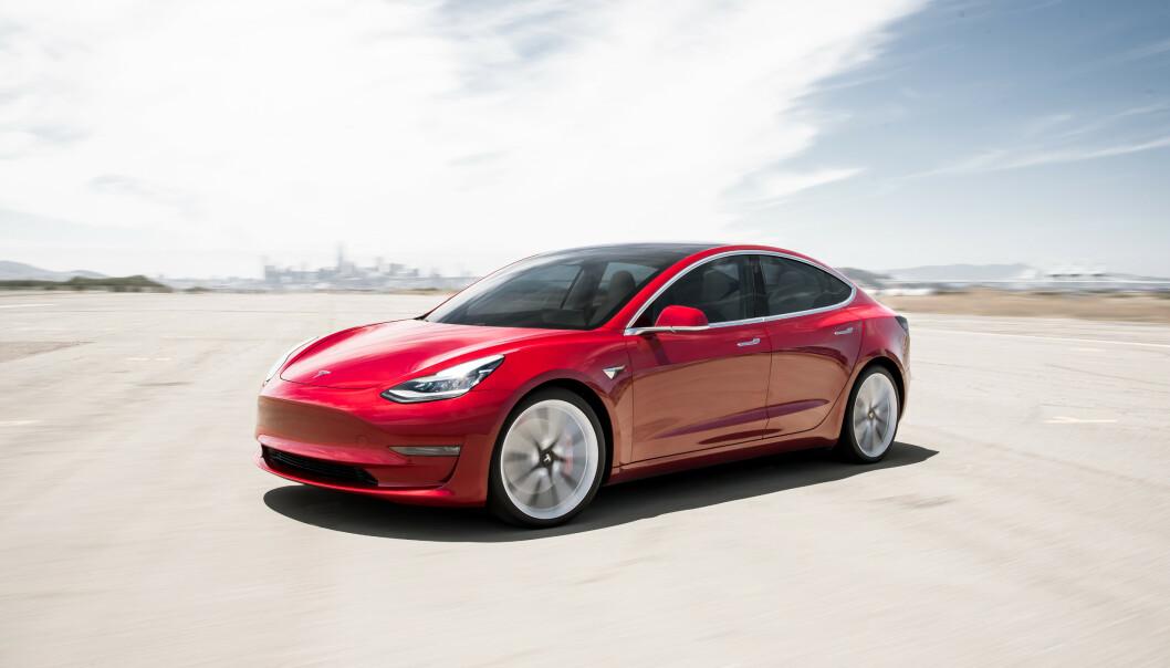 Den siste måneden har Tesla-verden blitt mer enn halvert på børs. Foto: Tesla.
