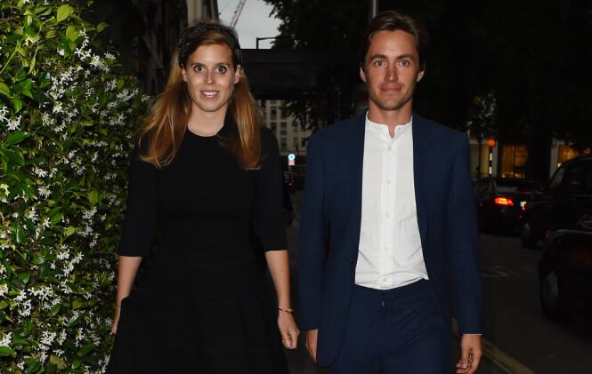 ENDRINGER: Beatrice og forloveden skal etter planen gifte seg 29. mai i år, men avslører allerede endringer. Foto: NTB Scanpix
