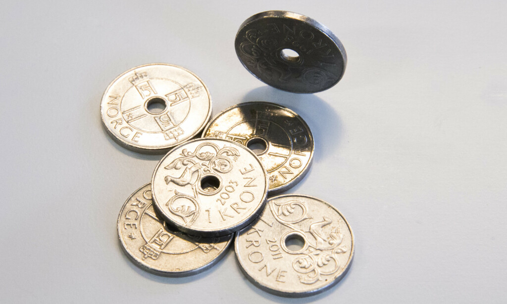 LAVMÅL: Krona har aldri vært lavere mot Euro og Dollar enn nå. Foto: Berit Roald / NTB scanpix