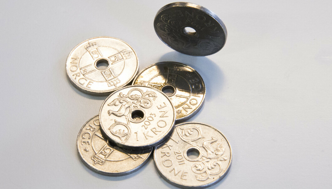 Norges Bank vurderer å gripe inn i valutamarkedet