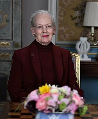 TALTE TIL FOLKET: Dronning Margrethe holdt en svært personlig tale til det danske folk. FOTO: Kongehuset.dk
