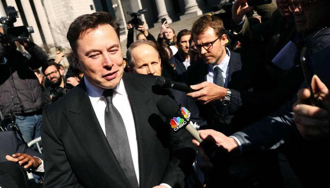 Elon Musk er kjent for å ha mange jern i ilden. Nå vil han lage respiratorer for å bidra i coronakrisen. Foto: Spencer Platt/Getty Images/AFP