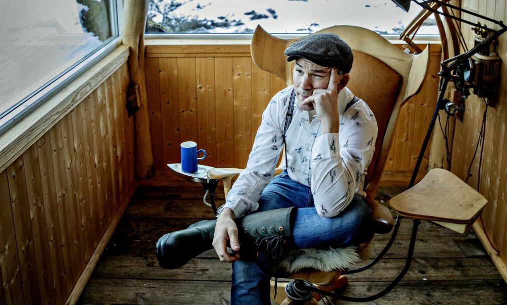 OPPLEVDE CORONA-SYMPTOMER: Erik Alfred Tesaker får ikke teste seg for coronaviruset til tross for at han mener han har fått det. Foto: Nina Hansen / Dagbladet