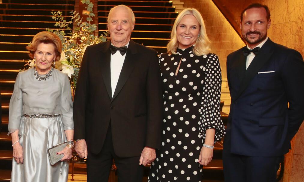 TAKKER: Kongeparet har delt en hilsen til det norske folk på Instagram. Foto: Lise Åserud / NTB scanpix
