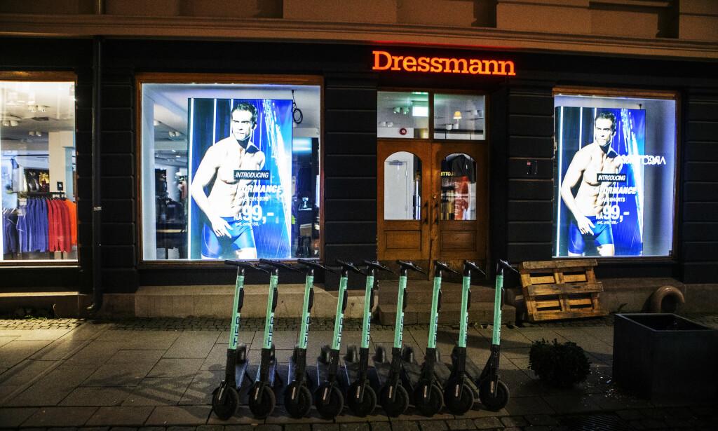 VARSEL: Varner-gruppen, som blant annet eier kleskjeden Dressmann, sender fredag ut permitteringsvarsel til 3500 ansatte. Foto: Frank Karlsen / Dagbladet