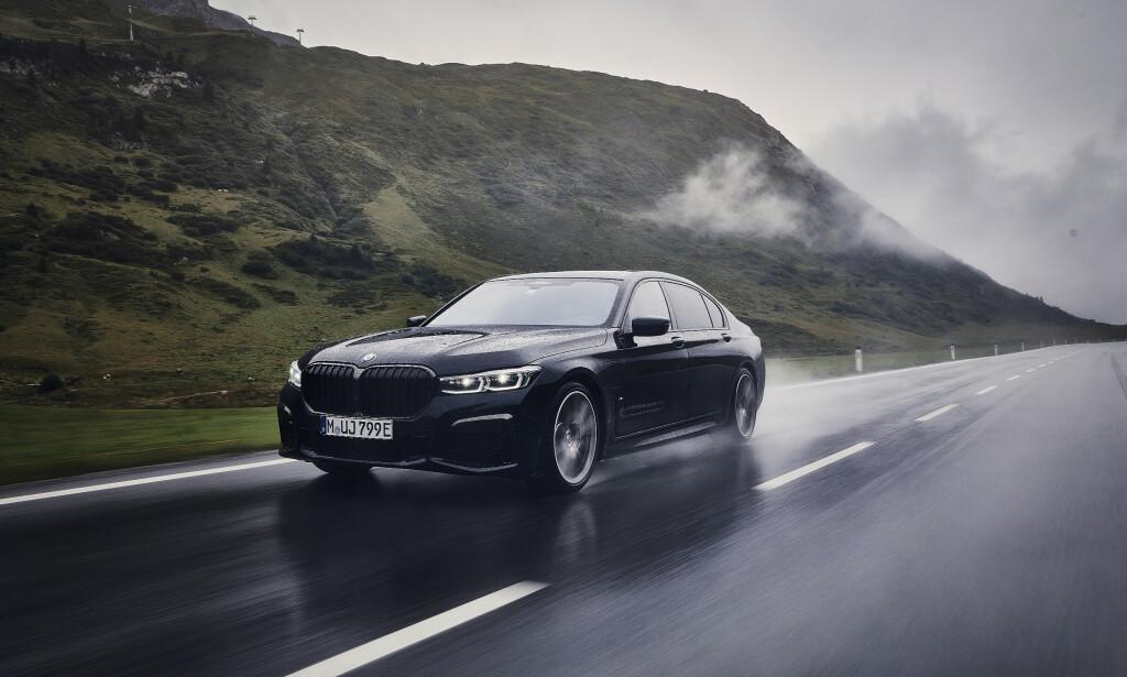 Den nye generasjon 7-serien blir tilgjengelig med fire drivlinjer: bensin, diesel, plug-in hybrid og ikke minst fullelektrisk. Foto: BMW