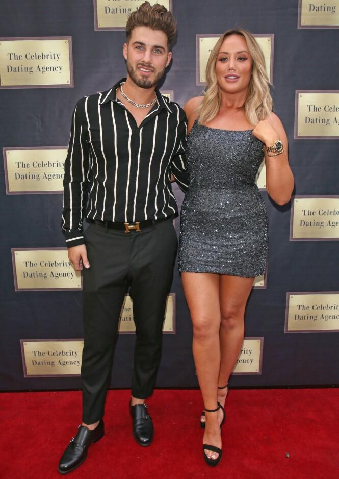 BRUDD: Forholdet til Charlotte Crosby og Josh Ritchie endte i november. Nå har hun funnet kjærligheten på ny. Foto: NTB scanpix