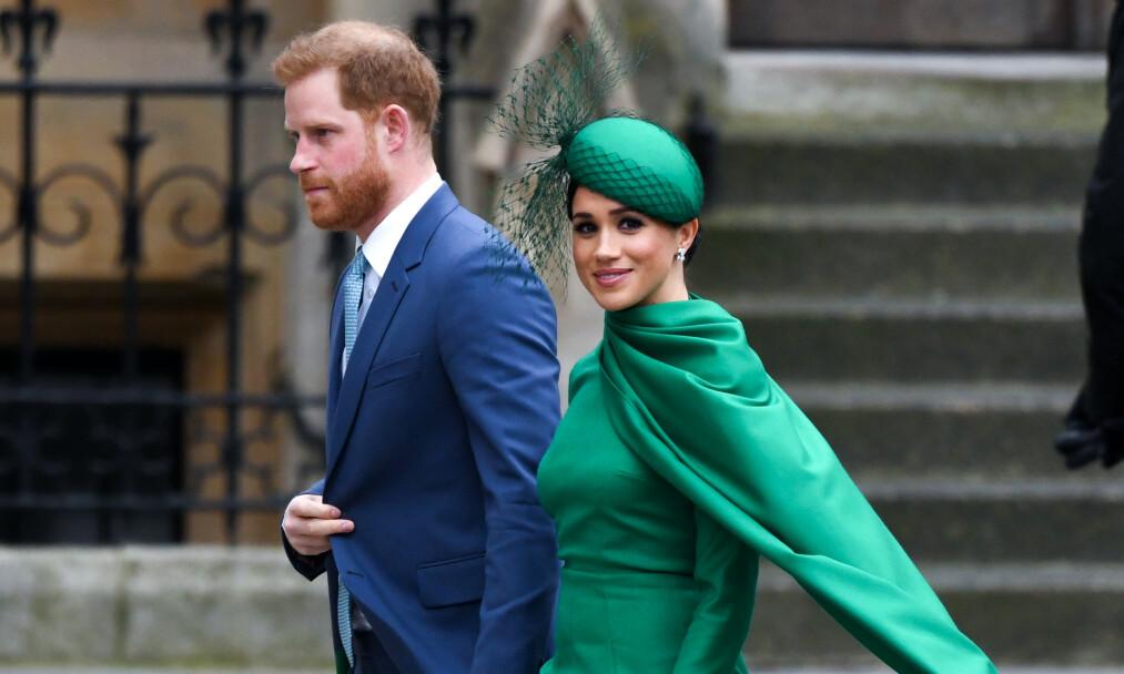 UTLØSER RASERI: I går delte hertugparet dronning Elizabeths offentlige uttalelse på sin offisielle Instagram-profil. Det tok ikke lang tid før flere så rødt og begynte å lire av seg spydige kommentarer. Foto: NTB Scanpix