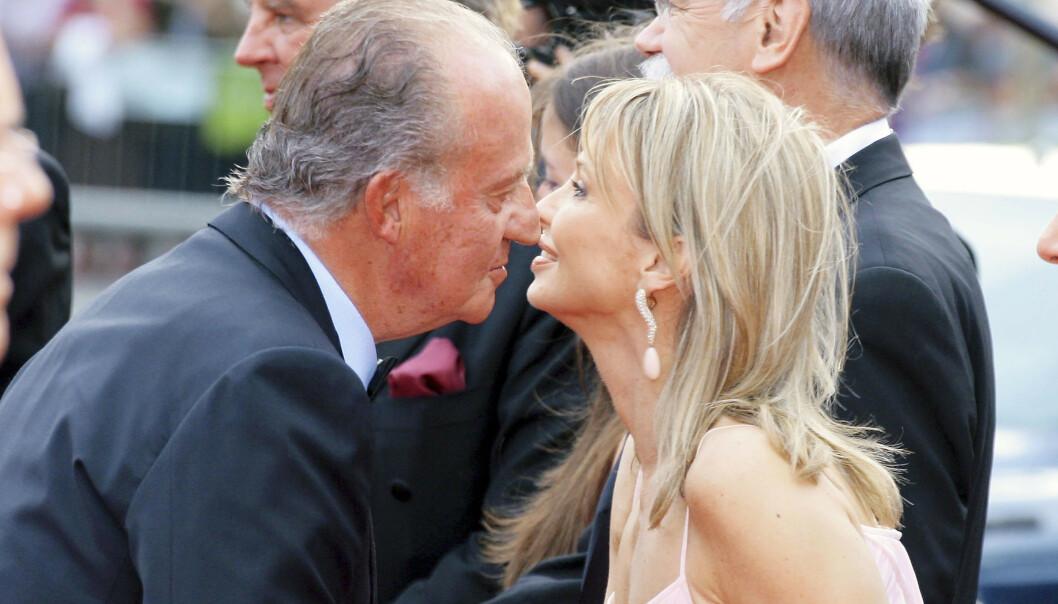 FLYKTET: Kong Juan Carlos' elskerinne Corinna Sayn-Wittengstein rømte Spania etter utroskapsskandalen. Foto: NTB scanpix