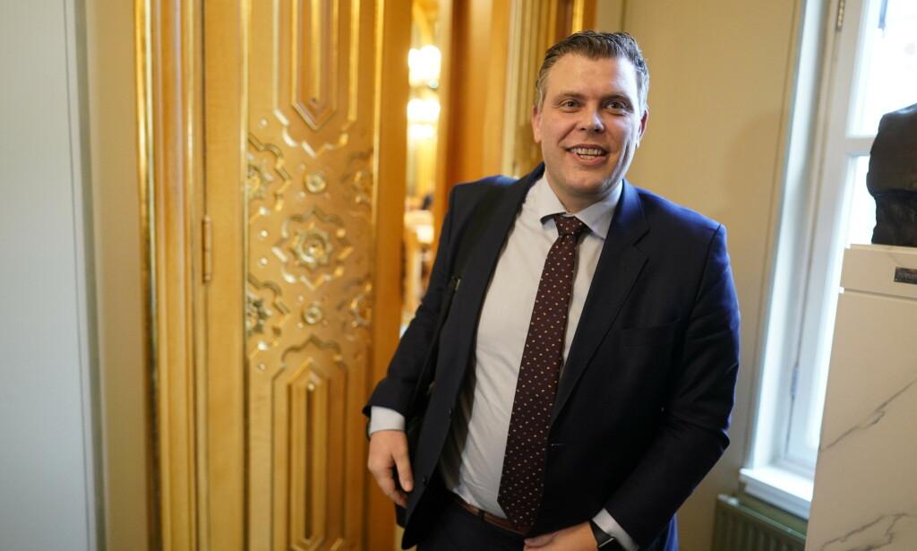 NY JOBB: Jøran Kallmyr skal tilbake til advokatfirmaet Ræder, hvor han har jobbet før, når karantenetida er uten 1. august. Foto: John T. Pedersen / Dagbladet