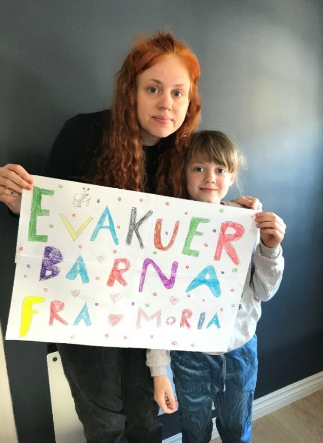 MORIA: Designer Fam Irvoll er blant kjendisene som har engasjert seg. Foto: Privat