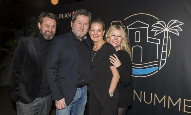 CASA NUMME: Greftegreff og Brøndbo ble med ekteparet Numme til Spania, og snakket åpent om ekteskapet. Foto: NTB scanpix