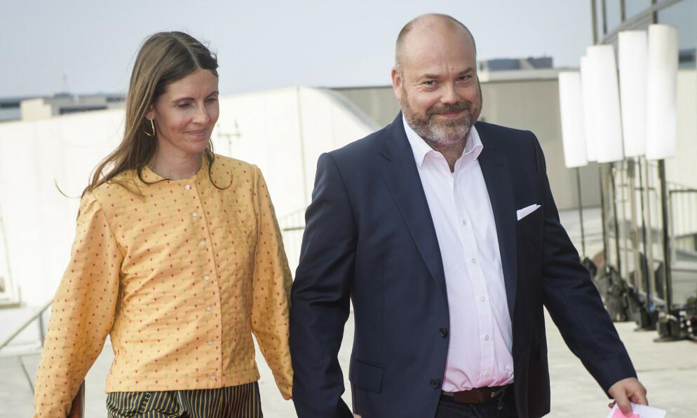 BESTSELLER: Eier og administrerende direktør i Bestseller, Anders Holch Povlsen, og kona Anne Holch Povlsen avbildet i 2018. Foto: Olufson Jonas/Ritzau Scanpix via AP