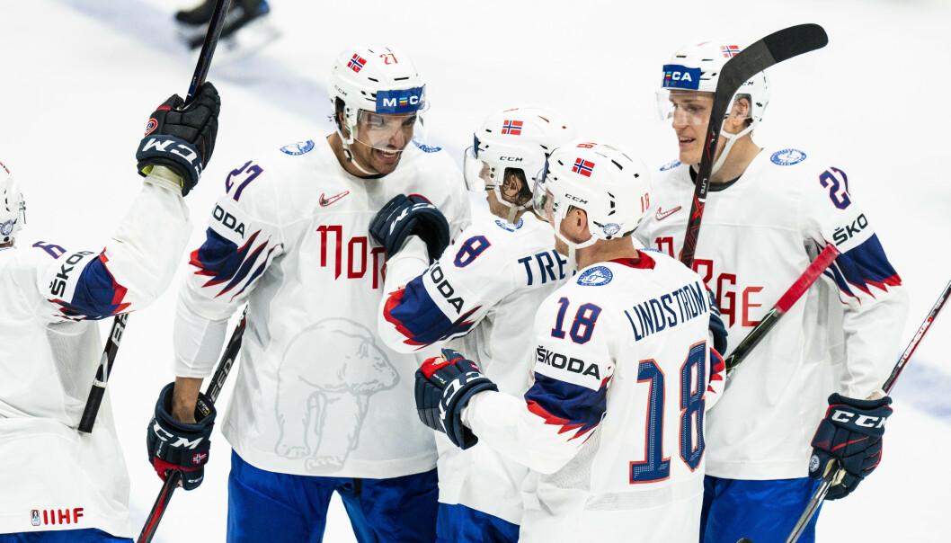 De norske landslagsspillerne må vente til neste år med å spille ishockey-VM. Foto: Tore Meek / NTB scanpix
