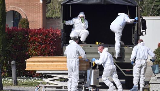Coronaviruset har krevd nær 800 nye liv i Italia
