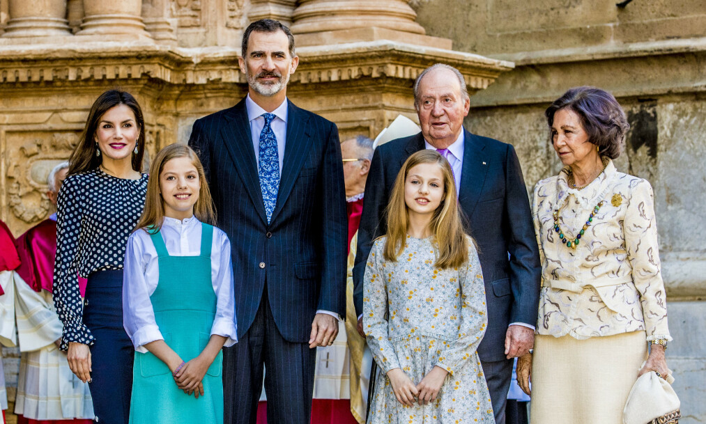 <strong>AVSLØRING:</strong> Spanias tidligere konge, Juan Carlos (82), skal ha mottatt penger fra et Saudi-Arabisk fond, før han i 2014 abdiserte. Nå fratas han apanasjen. Foto: NTB scanpix