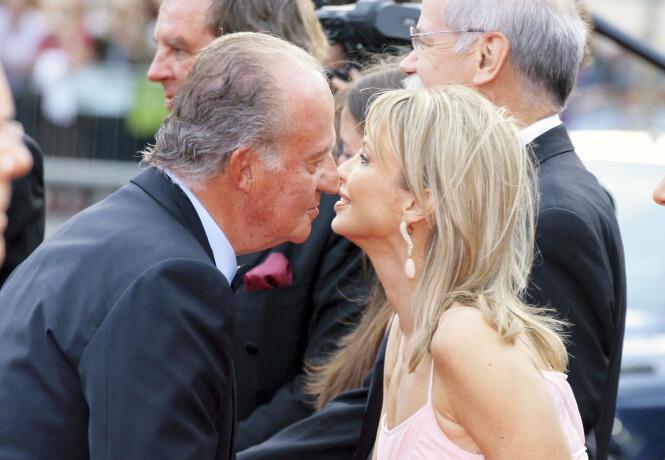<strong>FLYKTET:</strong> Kong Juan Carlos' elskerinne Corinna Sayn-Wittengstein rømte Spania etter utroskapsskandalen. Foto: NTB scanpix