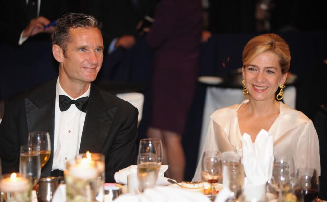 <strong>FLERE SIKTELSER:</strong> Prinsesse Cristina og ektemannen Iñaki Urdangarin har flere ganger blitt stilt for retten for økonomisk svindel. Foto: NTB scanpix