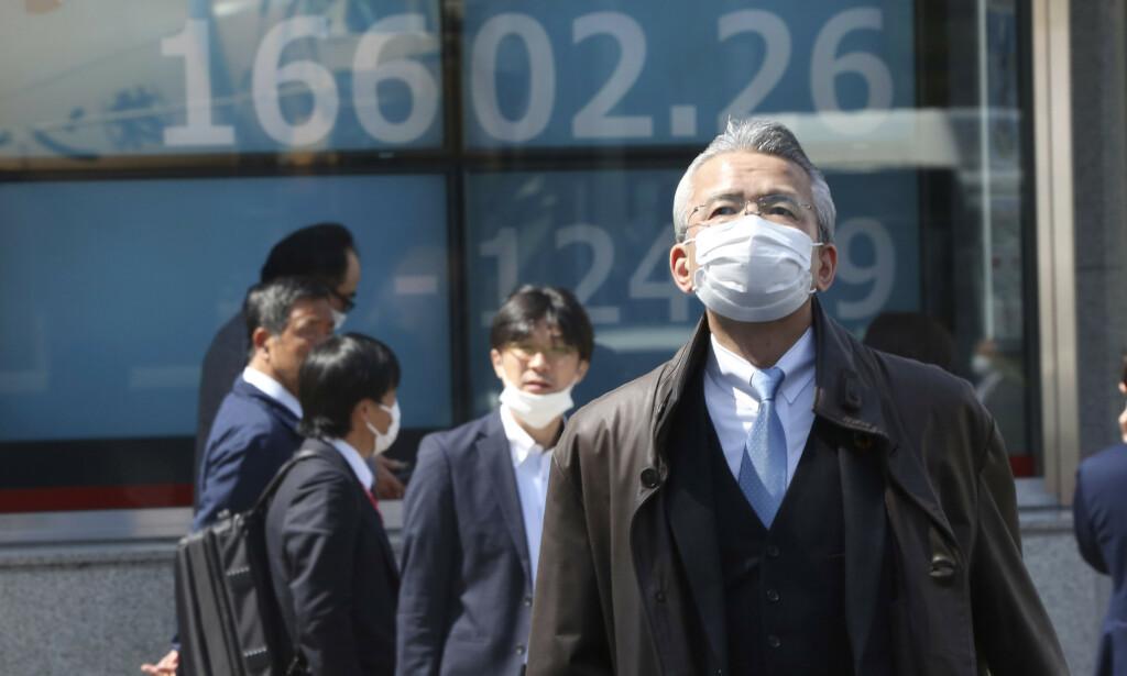 Børsene i Asia og Australia åpnet ulikt mandag morgen. Illustrasjonsfoto: Koji Sasahara / AP / NTB scanpix