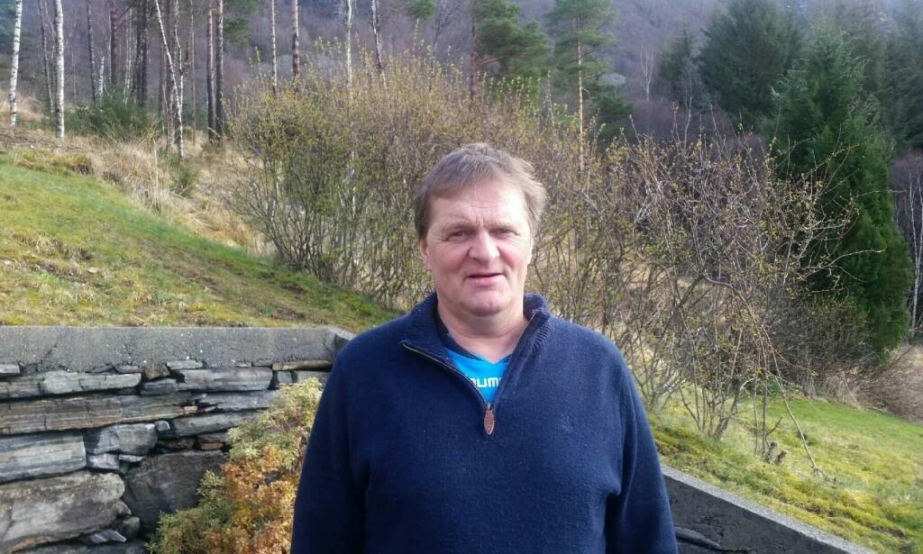 FIKK KOLS: Jan Magne Brobakke jobbet i mange år etter KOLS-diagnosen. Foto: Privat.
