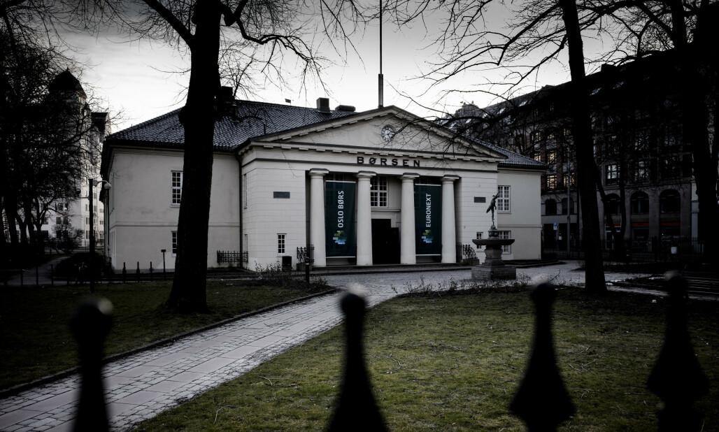 <strong>BRATT START:</strong> Oslo Børs åpner ned mandag. Foto: Lars Eivind Bones / Dagbladet