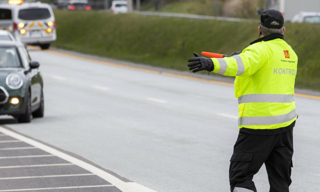 image: Bilist hostet på kontrollør: - Verste som har skjedd