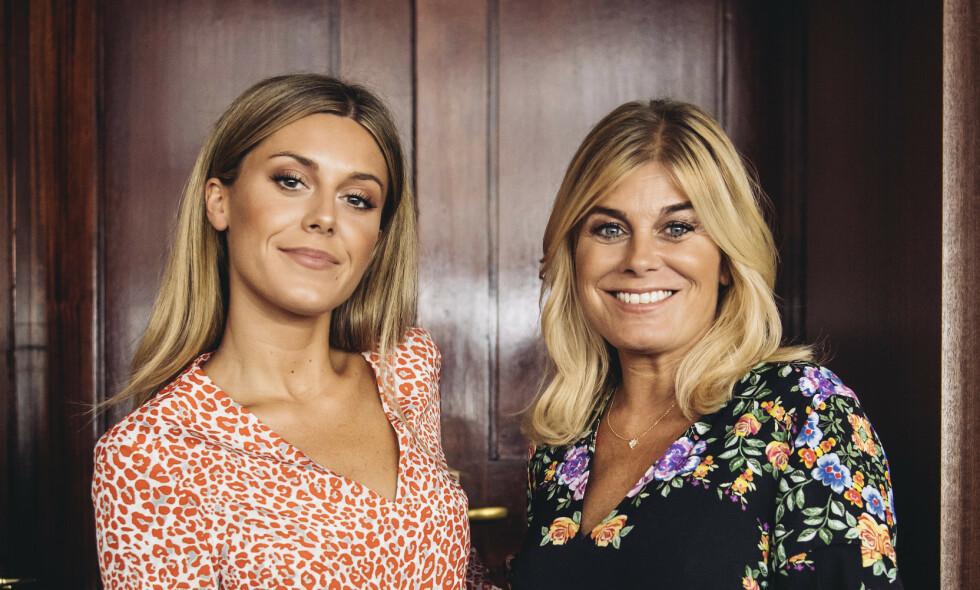 PENGEFEST: Bianca Ingrosso og mamma Pernilla Wahlgren hadde svært gode år i fjor. De kan le hele veien til banken med sin samlede omsetning på over 50 millioner kroner. Foto: Erik Simander / TT, NTB scanpix