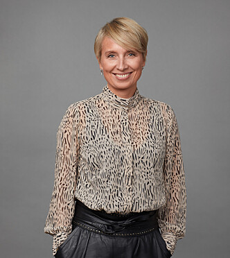 BER OM UNNTAK: Jeanette Christensen, kommunikasjonsdirektør i Statens pensjonskasse. Foto: SPK