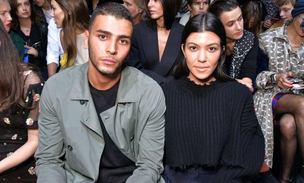 SAMMEN IGJEN: Mye tyder på at Kourtney Kardashian har funnet tilbake til Younes Bendjima. Hun utelukker ikke at et bryllup kan stå i fremtiden. Foto: NTB scanpix