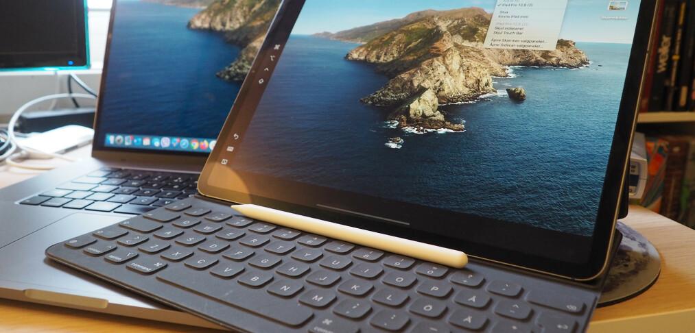 Bruk iPad som ekstra skjerm
