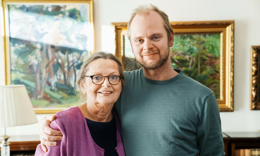 <strong>KREFTSYK:</strong> Mímir Kristjánssons barndom var sterkt preget av morens kreftdiagnoser. Foto: Espen Solli/ Se og Hør