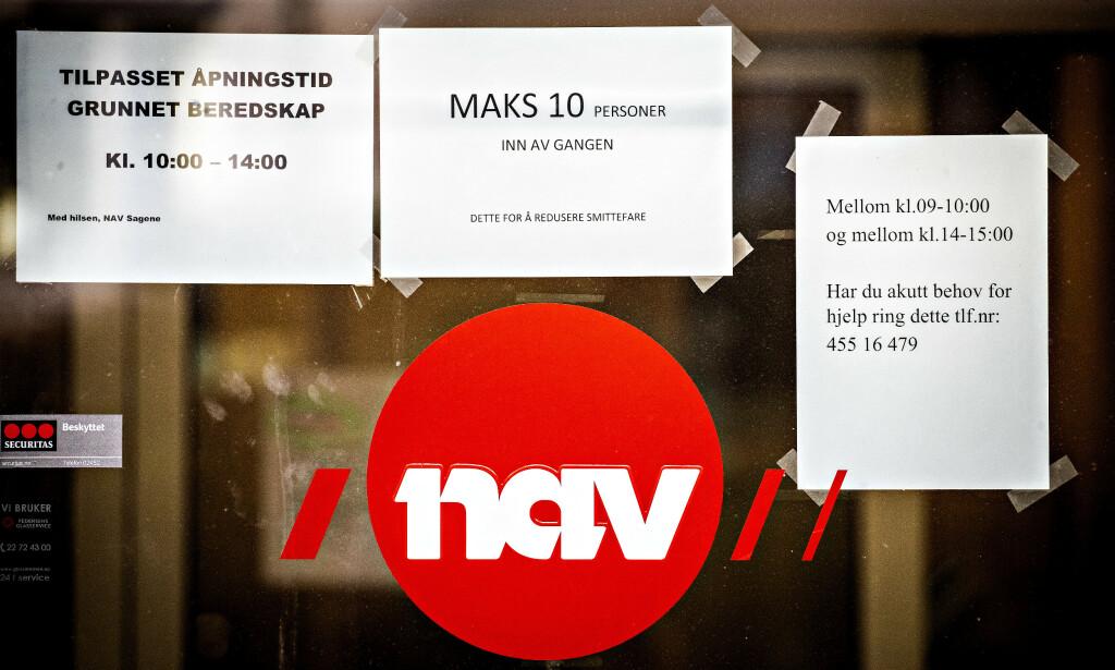 ARBEIDSLEDIGHET: Professor Jon Olaf Olaussen ved NTNU mener videreføringen av coronatiltakene vil førte til enda flere arbeidsledige. Foto: Bjrn Langsem / Dagbladet.