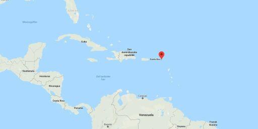 image: NRK: Nordmann drept i Karibia