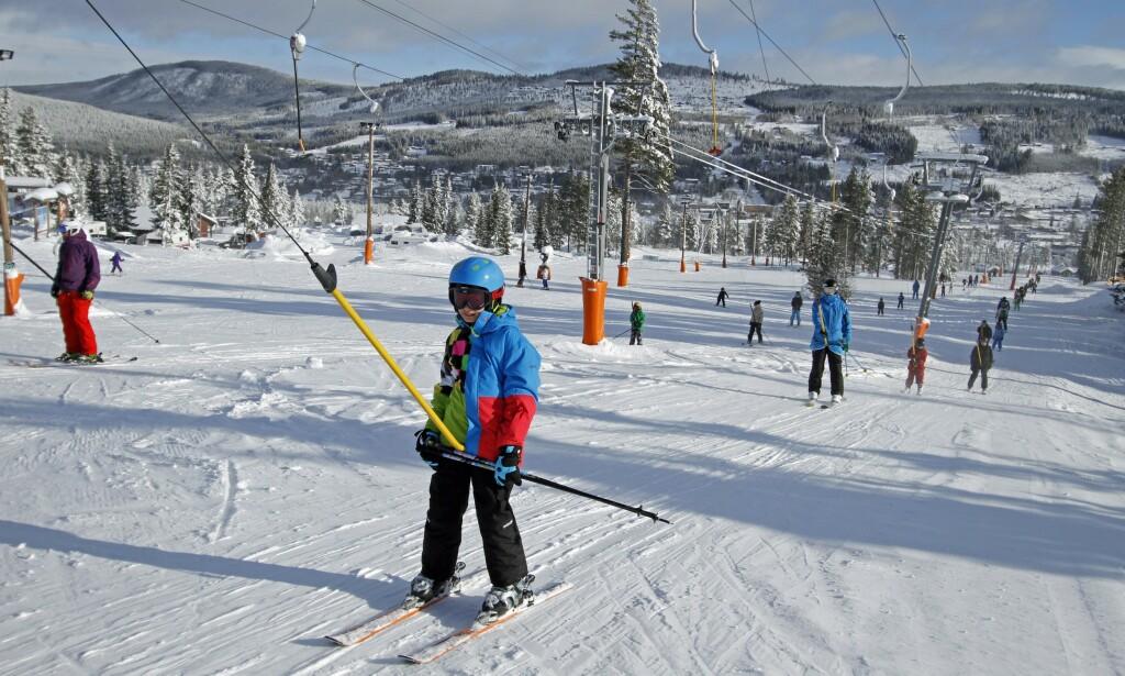 VINTERPARADIS: Trysil er Norges største skianlegg. Foto: Henrik Strømstad / Samfoto