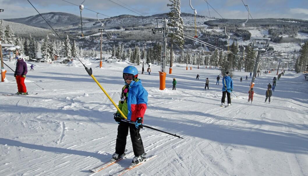 <strong>VINTERPARADIS:</strong> Trysil er Norges største skianlegg. Foto: Henrik Strømstad / Samfoto