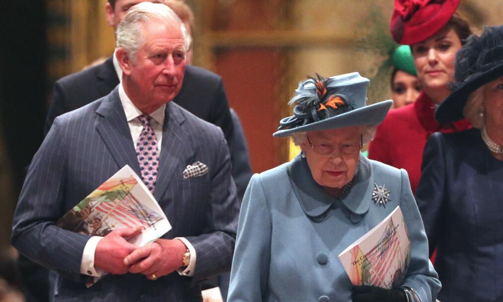 SMITTET: Prins Charles har fått påvist coronaviruset. Det melder en rekke medier onsdag formiddag. Foto: NTB Scanpix