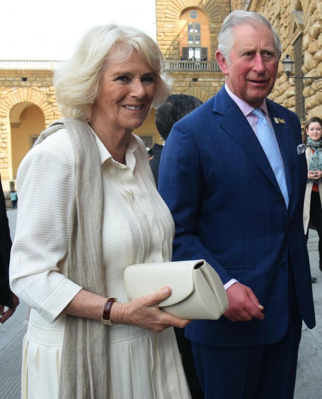 TESTET SEG: I pressemeldingen opplyses det også om at hertuginne Camilla av Cornwall har testet negativt for coronaviruset. Foto: NTB Scanpix