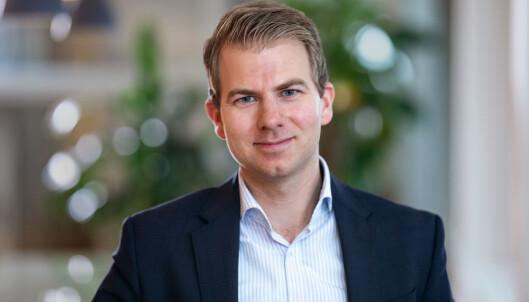 <strong>FORTVILER:</strong> Iman Winkelman, leder for servicehandelbedriftene i Virke. Foto: Virke