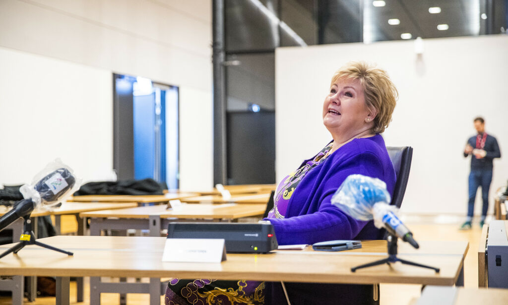 image: Ordfører til Erna: - Vi er på kanten av stupet