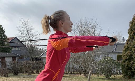 image: Slik trener du med strikk